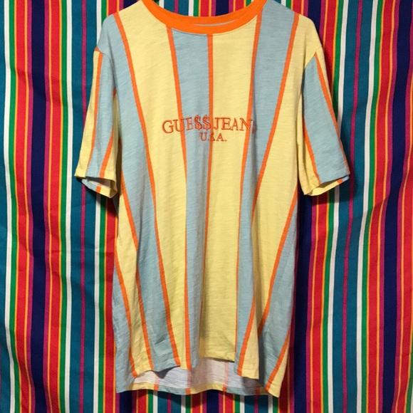 75c8fe7943 Guess Shirts | Nwot Le David Sayer Striped X Asap Ss | Poshmark